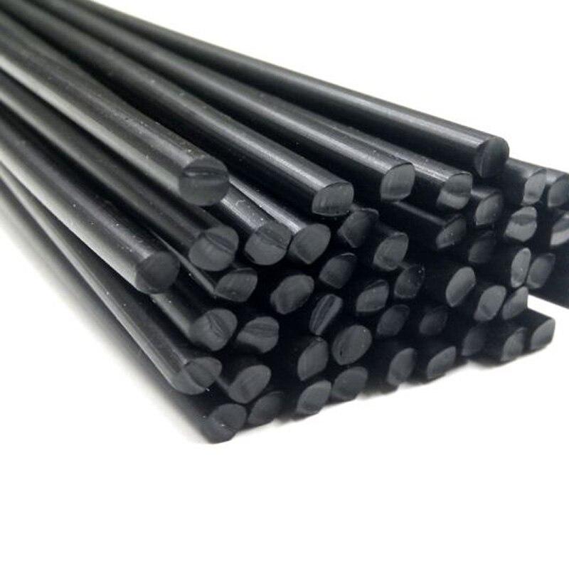 Белые/черные круглые пластиковые сварочные электроды POM 4 мм электроды для автомобильного бампера ремонт машины сварочные палочки инструменты