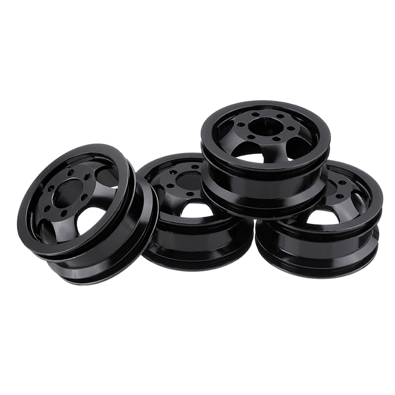 Wpl Upgrade for WPL B1 B-1 B14 B-14 B16 B-16 B24 B-24 C14 C-14 B36 with Screws RC Car Parts Metal Wheel Rim Kit Wheel Hub enlarge