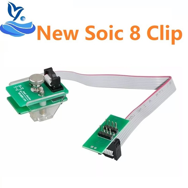 Xprog Eeprom Bord UPA USB V 1,3 Programmer Adapter mit Soic 8 Sop8 Test Clip für IPROG/IPROG + PLUS/ Xprog V5.60/V5.70/V 5,74