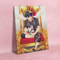 modular hd prints haikyuu picture home decor tobio kageyama paintings canvas anime role poster wall art for living room frame