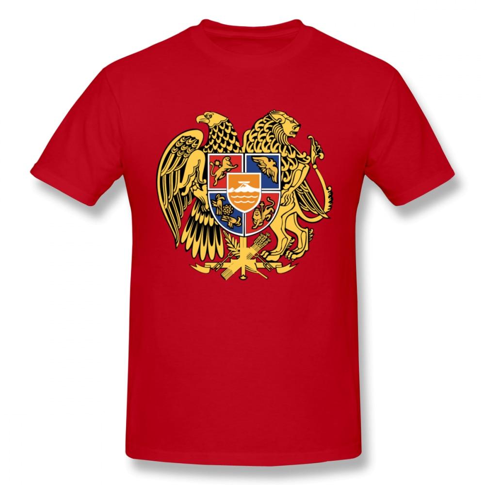 Camiseta de equipo personalizado Escudo de Armenia de armas para hombre de talla grande