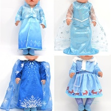 Baby clothes for doll for 43cm new born doll accessories Dresses cloaks boots shoes