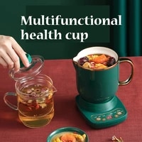 220v health electric stew cup small boiled tea boiled porridge hot milk heated water cup slow cooker