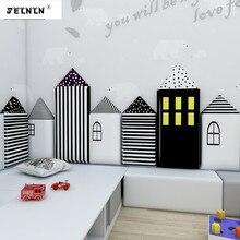 Children's room anti-collision soft tatami soft wall enclosing anti-collision corner kindergarten baby cartoon 3D wall stickers