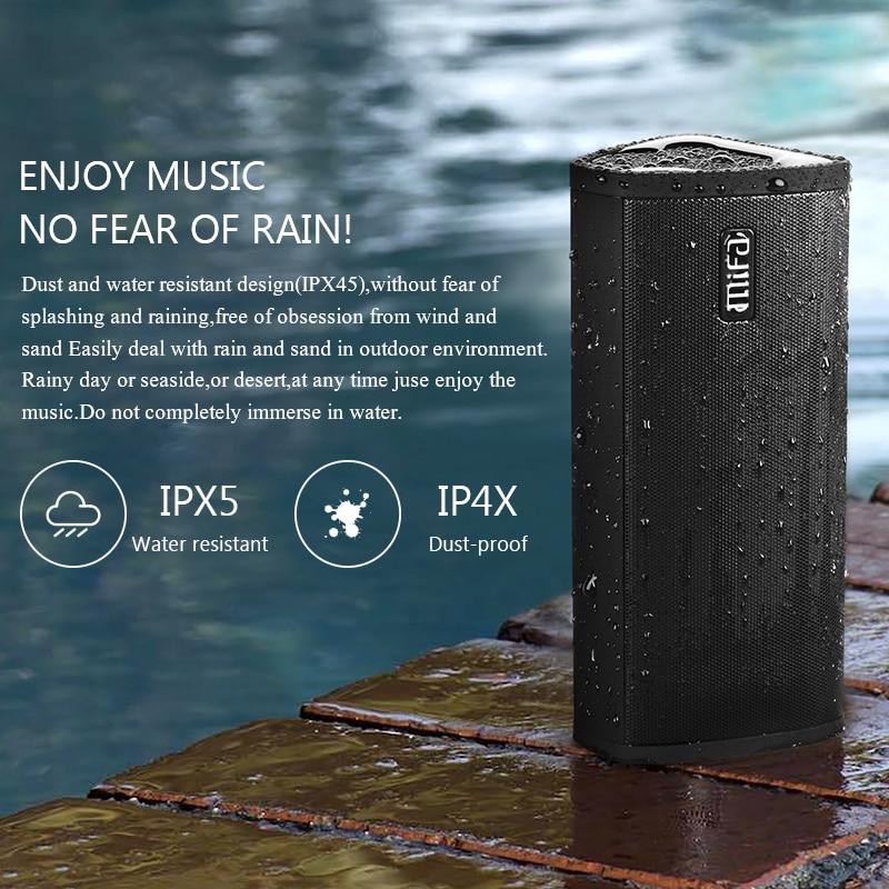 Bluetooth speaker Portable Wireless Loudspeaker Sound System 10W stereo Music surround Waterproof Outdoor Speaker enlarge