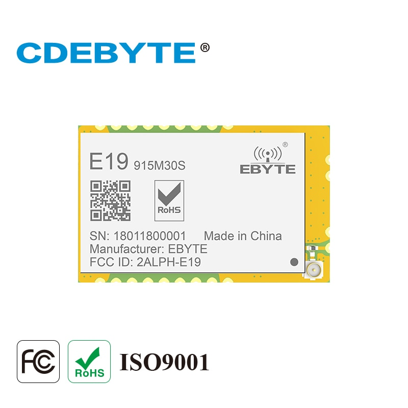 Ebyte E19-915M30S LoRa SX1276 PA LNA 915MHz 30dBm SPI IoT беспроводной модуль приемопередатчика