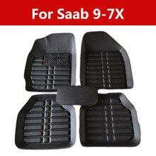 Top Special Auto Floor Mats Car Interior Stickers Accessories For Saab 9-7x for Car, SUV, Van Trucks