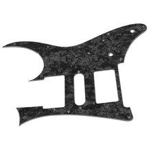 Black Pearl Chitarra Pickguard Per Ibanez RG550 o Jem RG di Ricambio 3 Strati