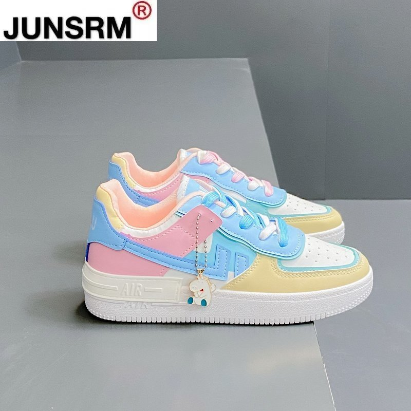 AliExpress - 2021 Spring New Women's Shoes Running Casual Shoes White Sneakers Comfortable Shoes Thick-soled Non-slip Vulcanized Shoes