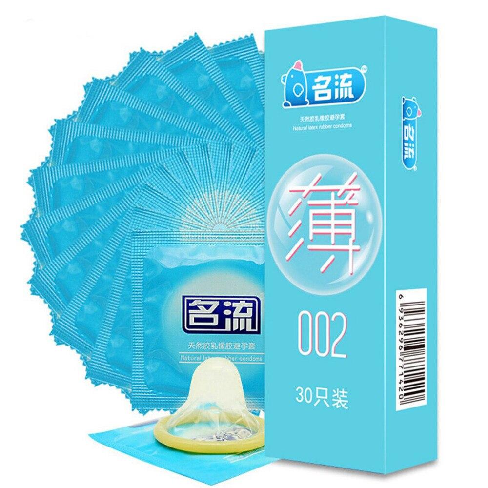 Super Sale Mingliu 002 Ultra Thin Condoms Intimate Kondom Quality Penis Sleeve Condones Adult Safe Sex Products For Men 90pcs