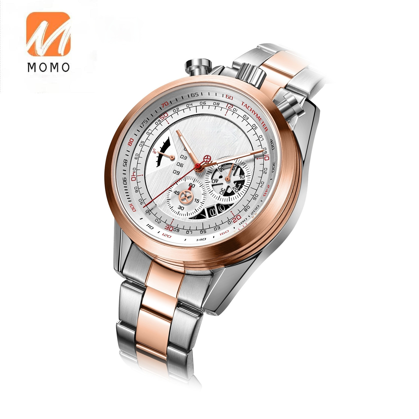 Розничная продажа, популярный дизайн, большие мужские наручные часы, роскошные мужские аксессуары, тяжелая нержавеющая сталь, черный цвет