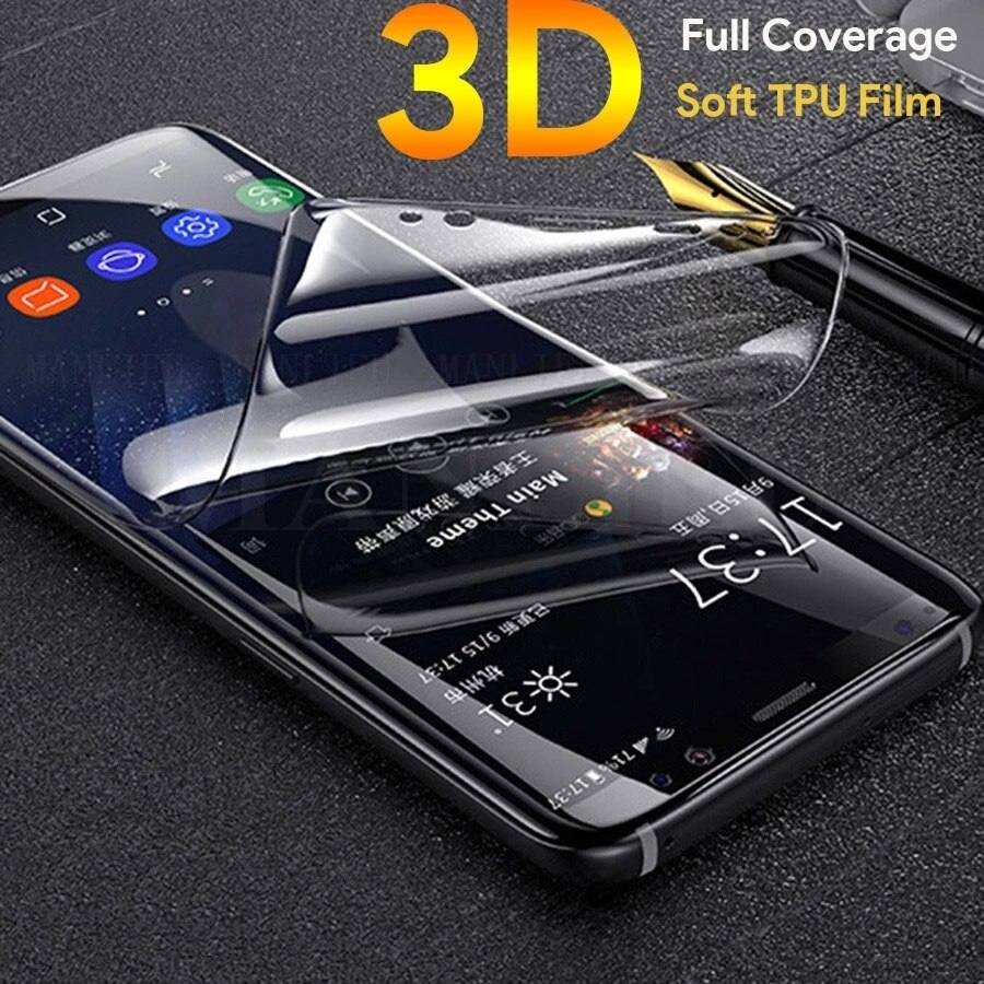 Protective Hydrogel Film for LG K50 K40 G8 Q9 ONE V60 Q7 Q6 Q6A X4 2019 V50 ThinQ 5G Screen Protector