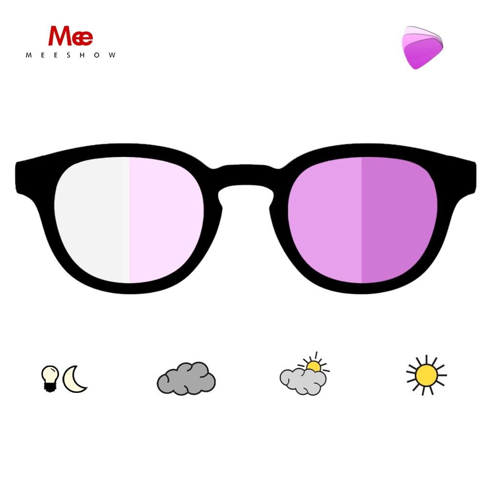 Meeshow 2021 نظارات للقراءة فوتوكروميك ريترو أوروبا نمط جودة الرجال النساء نظارات شمسية Lesebrillen UV 400 نظارات شمسية 1513