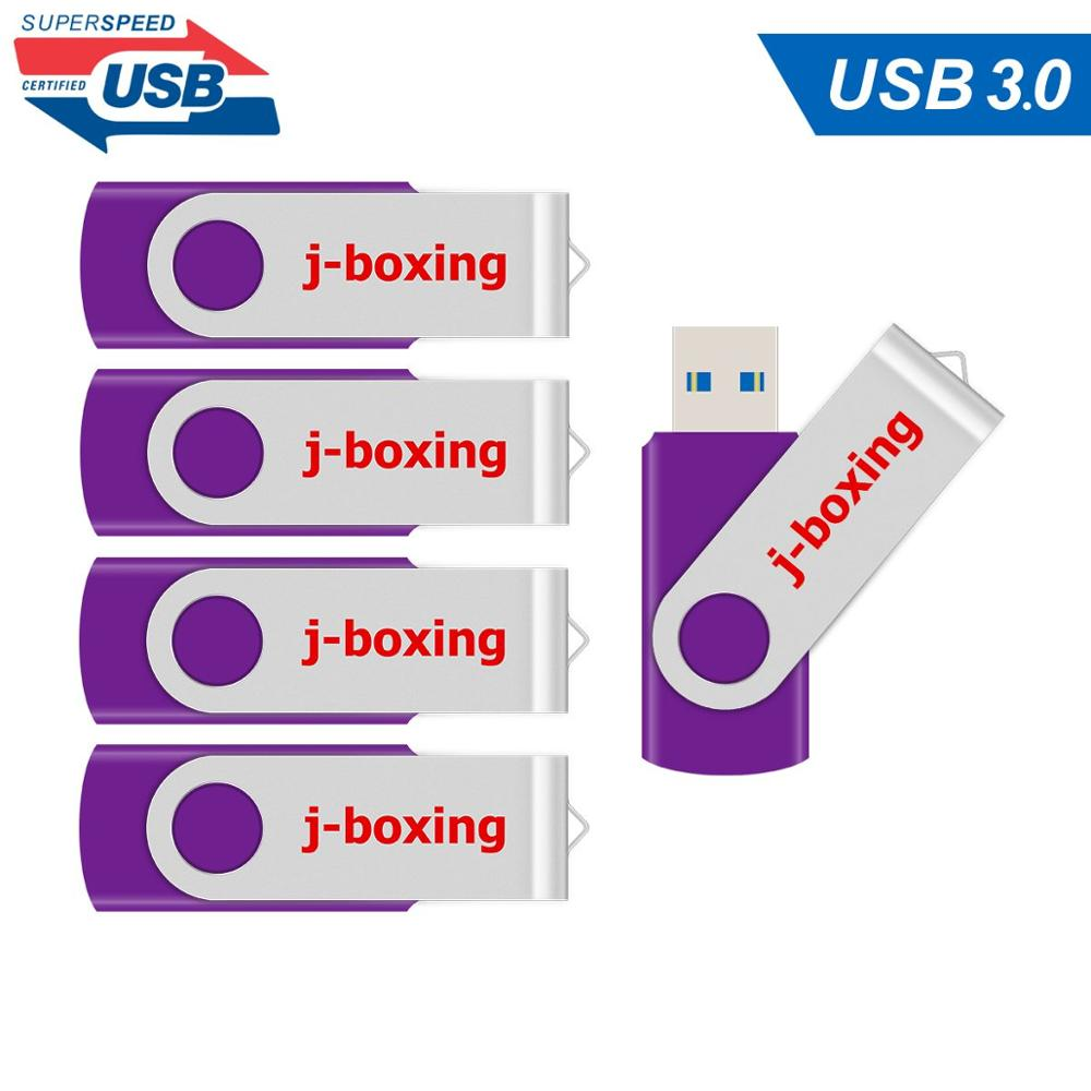 5PCS/LOT 32GB 64GB USB 3.0 Pendrive Memory Flash Stick High Speed USB Sticks for desktop laptop macbook storage device Purple