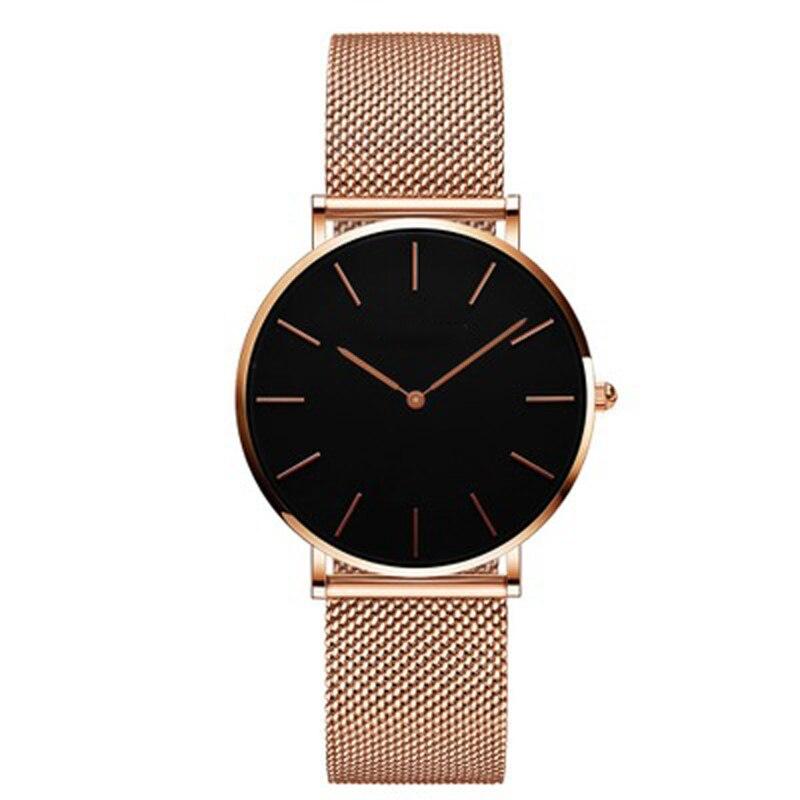 Japan Quartz Movement High Quality 36mm Women Stainless steel Mesh Rose Gold Waterproof Ladies Watch Luxury Wrist Watch enlarge
