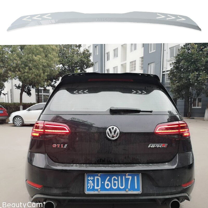 High quality For Volkswagen Golf 7 VII 7.5 R R-LINE  GTI Spoiler 2014 2015 2016 2017 2018 2019 rear window roof Golf Spoiler