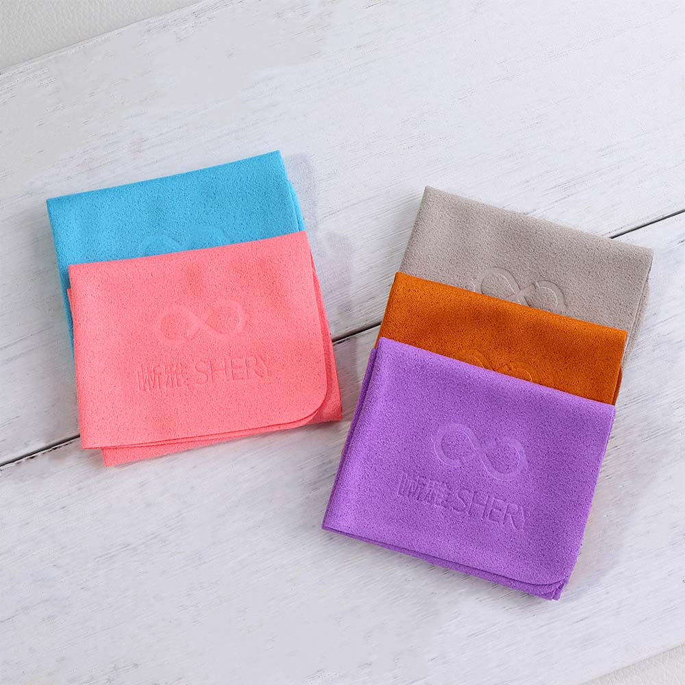 10 Pcs/Set Glasses Cleaner Cloth Suede Fabric Soft Portable Cleaning Lens Phone Screen Computer Sung