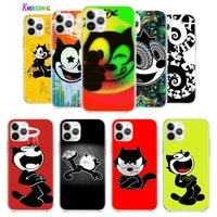 anime cute funny cat for apple iphone 12 mini 11 xs pro max xr x 8 7 6s 6 plus 5 5s se 2020 tpu silicone phone case