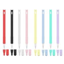 Soft Silicone Case For Apple Pencil 2 Pen Case Ipad Stylus Anti-drop And Non-slip Protective Shell C