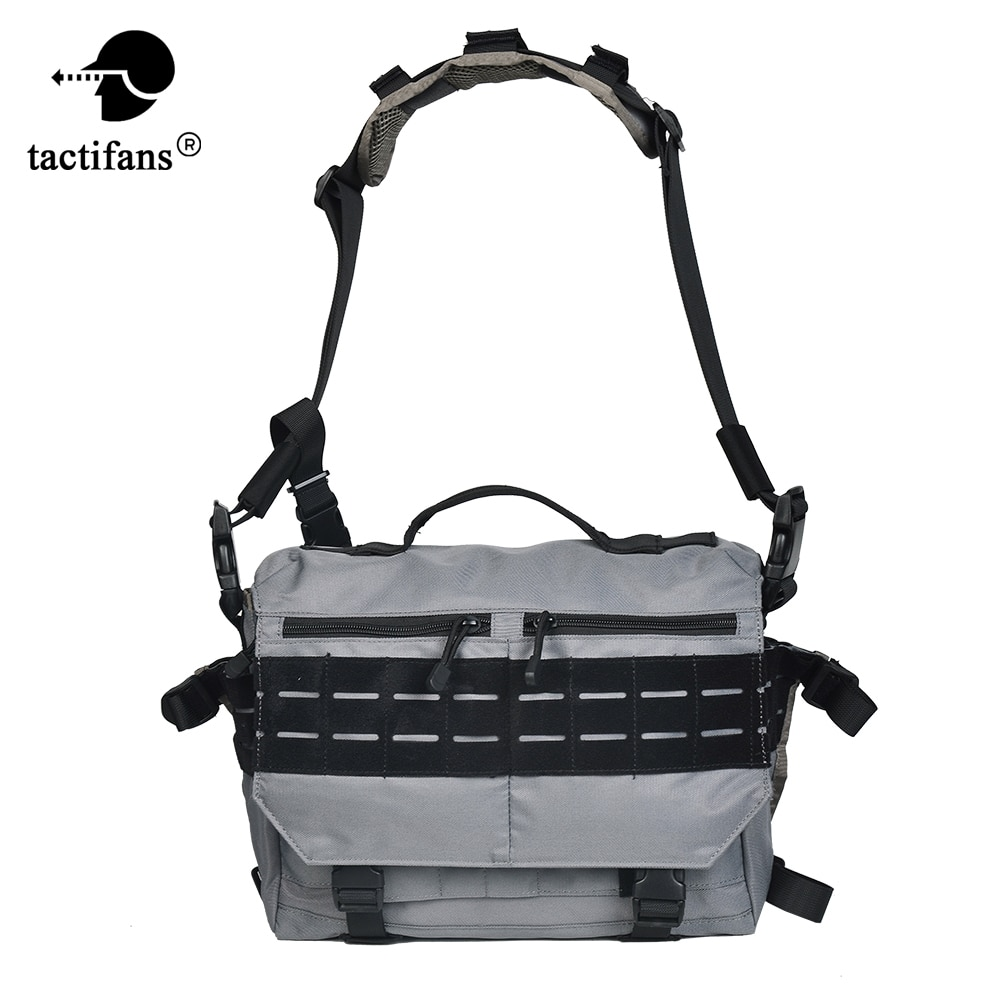 12L Tactical Rush Delivery Messenger Bag Xray Crossbody Double Tap Internal Frame Backpack Luggage Pack Paintball Accessories