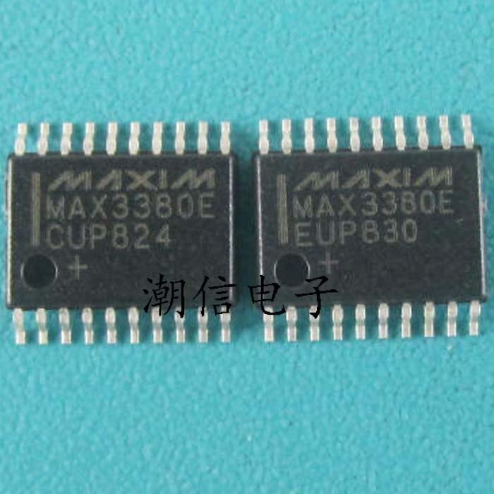 10cps MAX3380EEUP MAX3380ECUP TSSOP