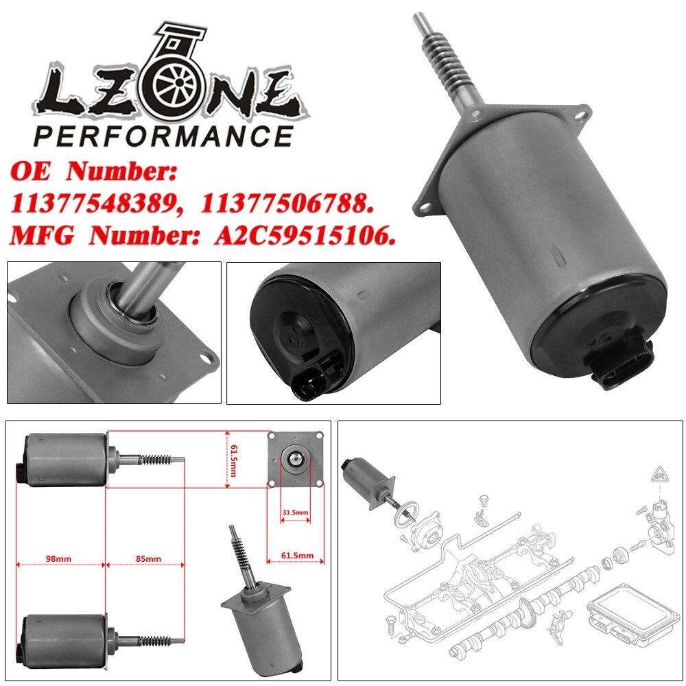 LZONE - Valvetronic eje excéntrico del actuador para BMW X5 E53 E60 E63 E65 E66 E70 N62 N62N 4.4L/4.8L V8 11377548389, 11377506788