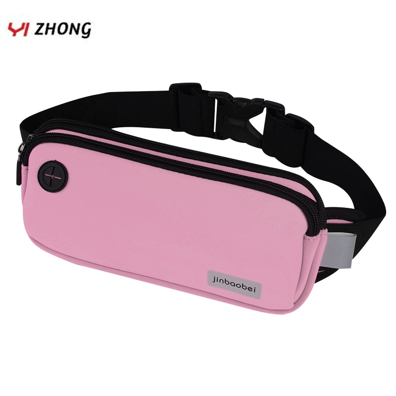 Riñonera Unisex para auriculares, riñonera deportiva reflectante para teléfono, bolsa para Fitness, trote, Marathon