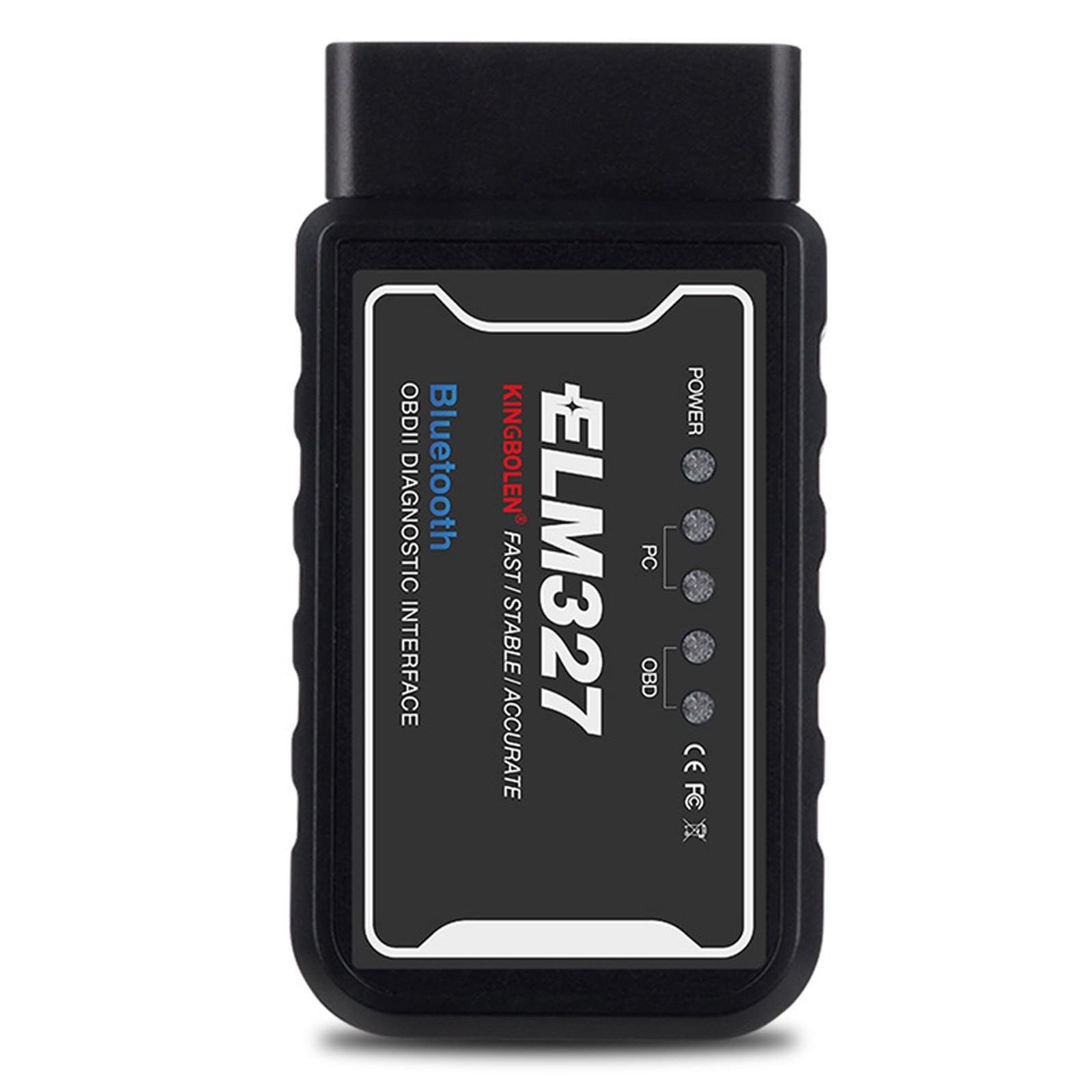 original v1 5 elm327 bluetooth adapter pic18f25k80 eml327 obd2 1 5 for android pc works with forscan elm 327 obd2 1 5 in russian ELM327 Bluetooth V1.5 PIC18F25K80 Chip Kingbolen ELM 327 OBD2 Diagnostic Tool For Android Elm327 v1.5 Auto Scanner Code Reader