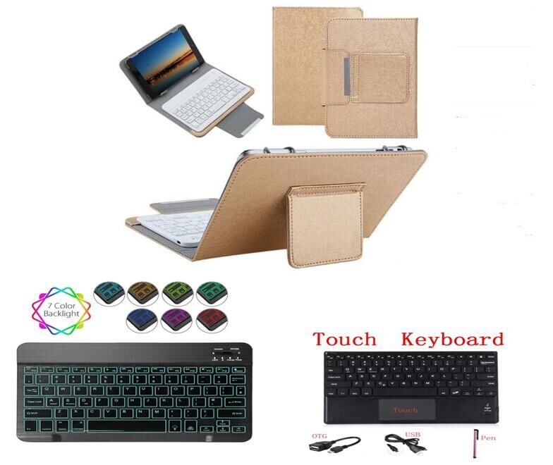 "Für Huawei T8 Touchpad Tastatur für Huawei MatePad T8 Kobe2-L09 Kobe2-L03 8 ""Tablet PC Fall Licht Bluetooth Tastatur Abdeckung + stift"