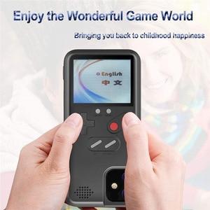 Image 3 - Игровой чехол Tetris Gameboy для iphone 12, 11 Pro Max, 7, 8, 6, 6S Plus, Ретро Чехол для консоли Game Boy для iphone XS, Max, XR, X, SE, чехол