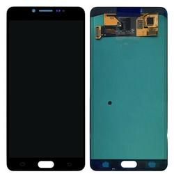 Para Samsung Galaxy C9 Pro C9000 C900F Super AMOLED Display LCD de Toque Assembléia Black White Original C9 Pro C9000 C900F tela de LCD