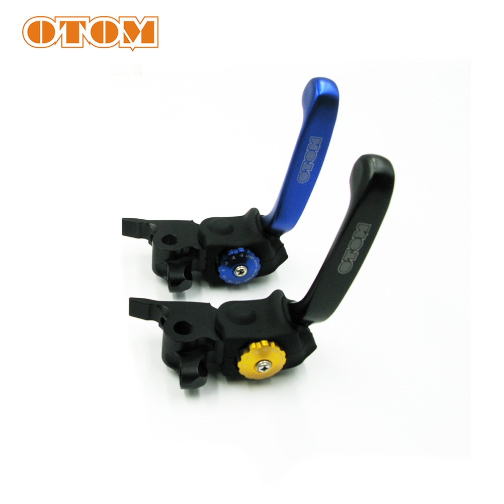 OTOM-ذراع فرامل أمامي قابل للتعديل ، 7 تروس ، فرامل محورية ، لـ KTM HUSQVARNA ، دراجة نارية ، CNC