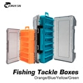 Коробка для рыболовных снастей ONASN, двухсторонняя коробка для хранения приманок, крючков, 12 дюймов, 14 отделений - фото