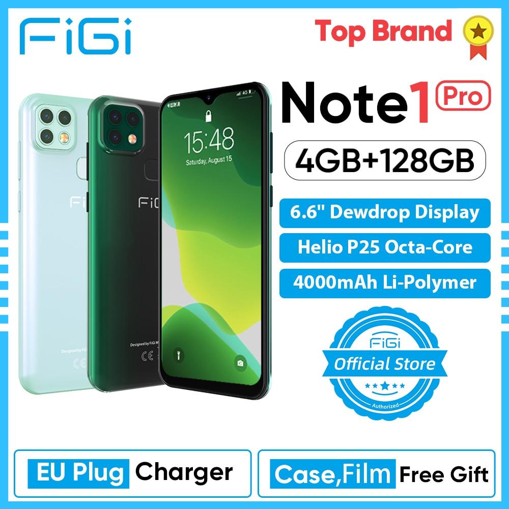 Teléfono Inteligente FIGI Note 1 pro con pantalla de 6,6 pulgadas, batería...