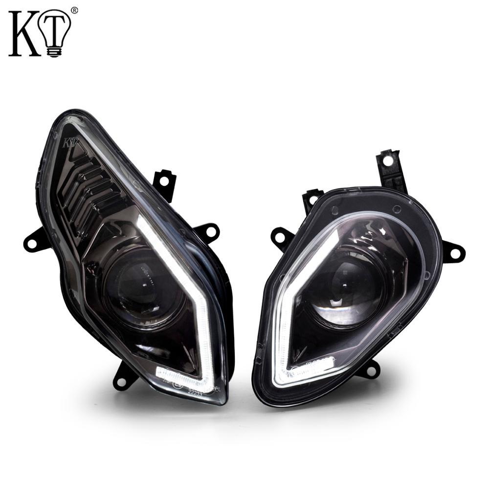 E-MARK Certification KT Full LED Headlight Assembly for BMW S1000RR 2015-2018
