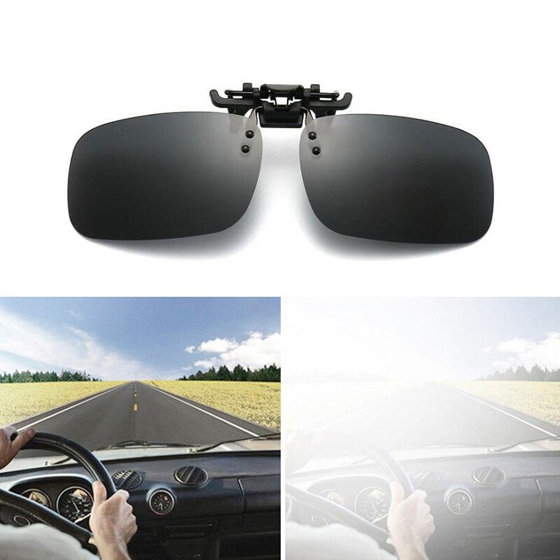 Car Sunglasses Clips Polarized Night Driving Glasses For Renault Koleos Megane Scenic Fluence Laguna
