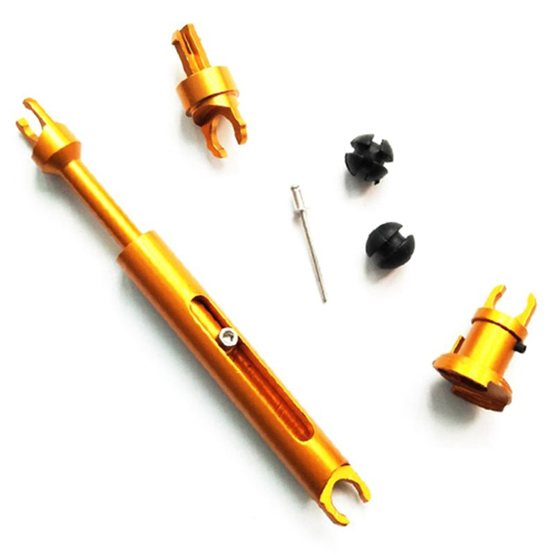Car Accessories Alloy Release Tie Rod Front Grille Cover Hood Lock Latch Connecting Rod for F-o-r-d Focus 2 Mk2 for C-Max