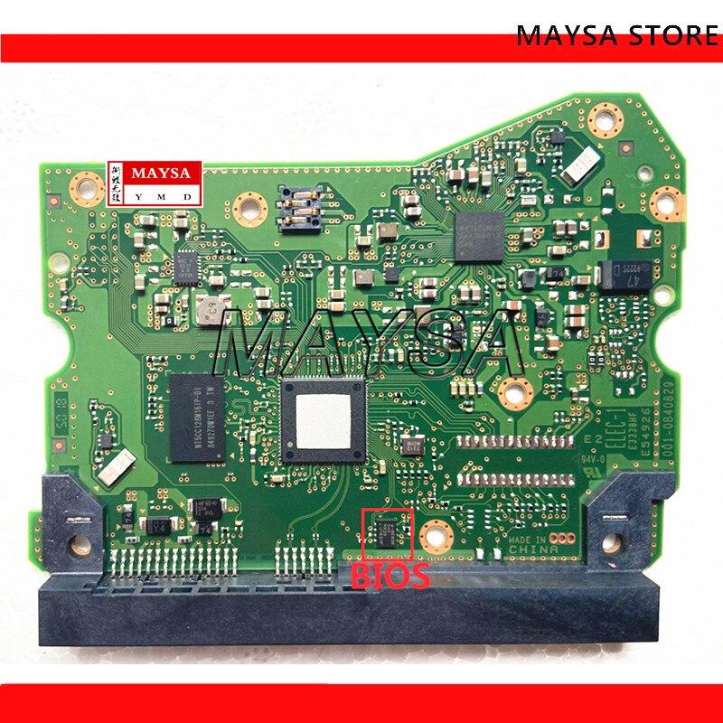 لوحة دوائر كهربائية للقرص الصلب الغربي WD, 12 تيرا بايت ، 006-0B40829 ، لوحة دارات مطبوعة