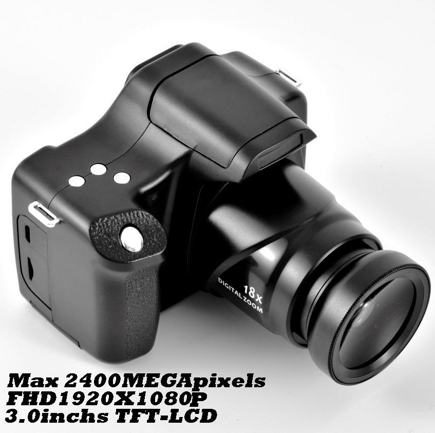 EastVita كاميرات رقمية ل 1080P HD كاميرا التصوير الفوتوغرافي المهنية مع ميكروفون 1080P زاوية واسعة كاميرا صغيرة محمولة صور