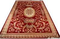 carpet beige woven Thick And Plush Neo Classic Design woven Area