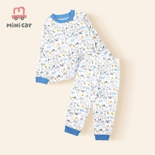 0-3year Baby Clothes Set Winter 100% Cotton Newborn Baby Boys Girls Clothes 2PCS Baby Pajamas Unisex