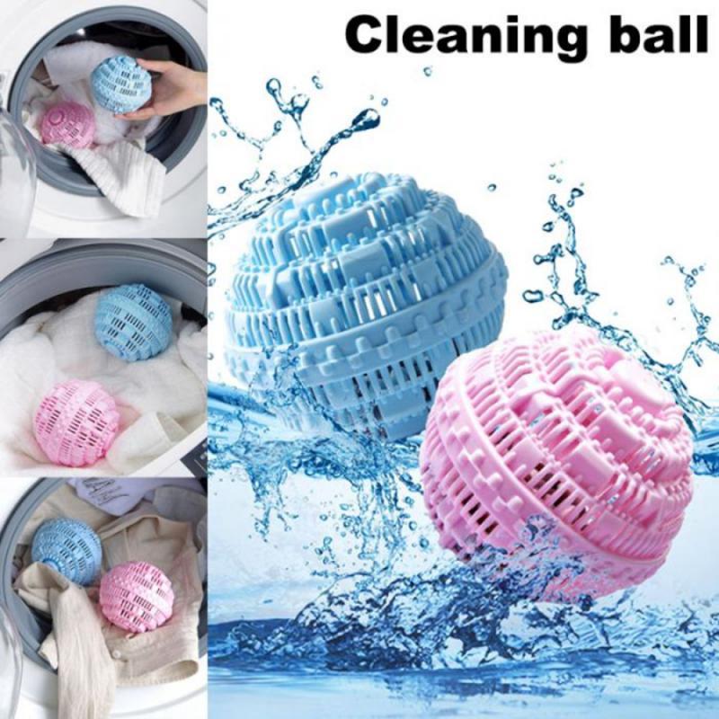 Bola de lavagem orgânica do amaciador da tela da lavanderia bola de lavagem orgânica anti-enrolamento da lavanderia bola natural reusável do secador da lavanderia