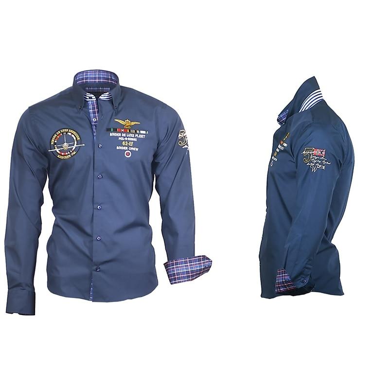 ZOGAA Long Sleeve Shirt Men Fashion Shrits Casual Long Sleeved Printed Slim Fit Male Business Dress Shirt Brand Men Clothing