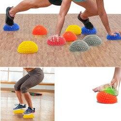 Для йоги, пилатеса, фитнеса, полумяч, Балансирующий мяч для детей, взрослых, для упражнений, шаговые камни, стручки для тренажерного зала, для пилатеса, Спортивная игрушка