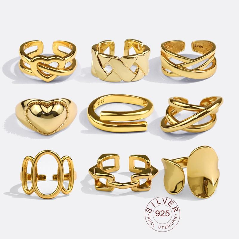 Реальные-925-пробы-серебряные-кольца-для-женщин-с-открытым-лицом-Винтаж-свадебное-Трендовое-ювелирное-изделие-больших-регулируемых-антиква