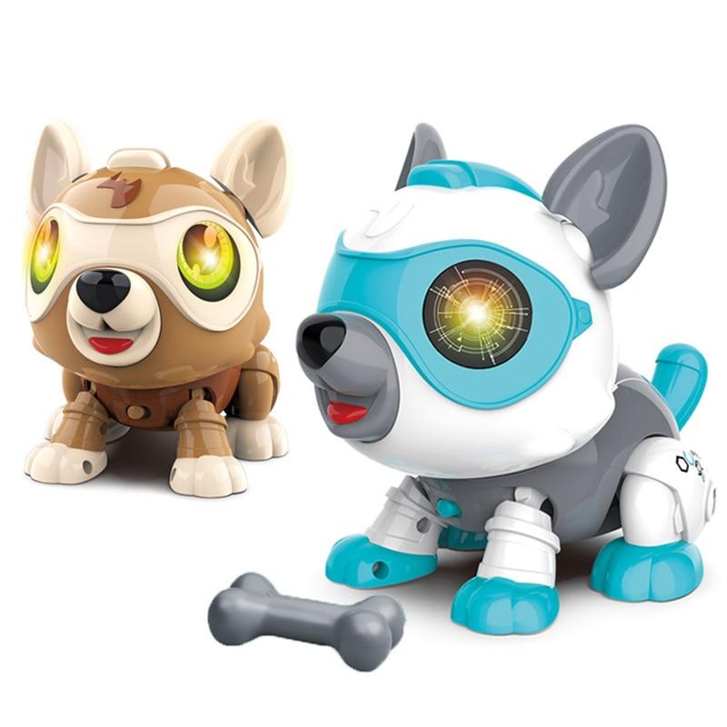 Robot Toys Kids Electronic Pet Chien Interactif Robots Inteligentes Interactivos Silverlit Robot Remote Control Smart Robot Dog