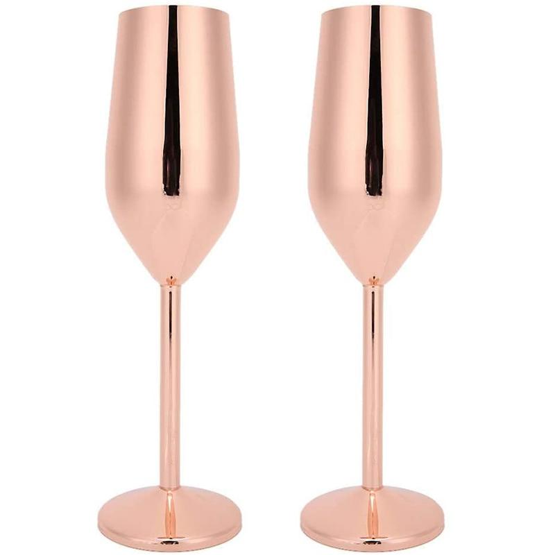 2 قطعة كأس النبيذ كؤوس الشامبانيا 200 مللي مزامير الشمبانيا شاتيربروف أكواب الشرب لشريط حزب مأدبة