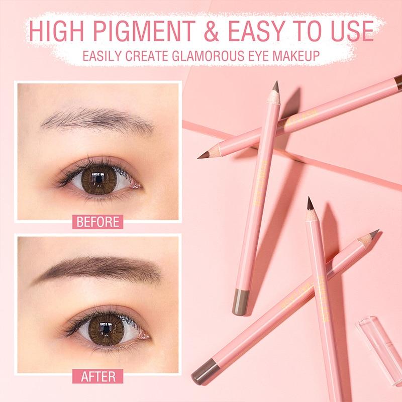 4 Colors Ultra-fine Eyebrow Tattoo PenSketch Waterproof Eye Brow Pencil Long Lasting Eyebrow Tint Ma