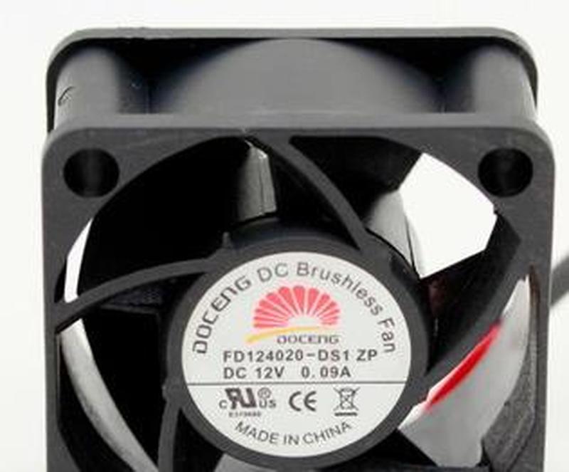 Para FD124020-DS1 original de Ultra bajo costo DC12V 0.09A 4020 ventilador de doble rodamiento 40*40*20mm