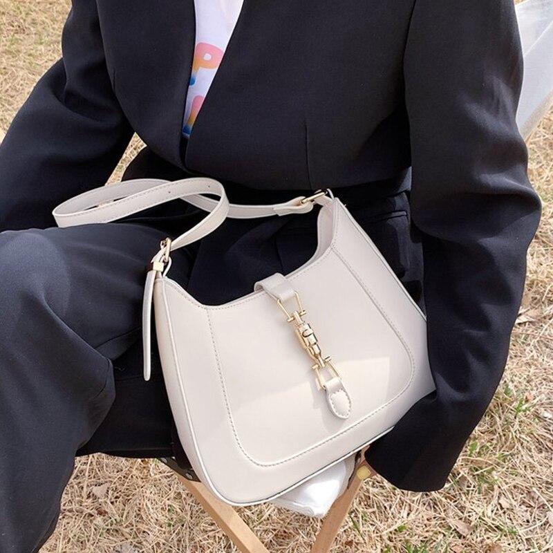 Luxury Brand Purses and Handbags Designer Leather Shoulder Crossbody Bags for Women Fashion Underarm